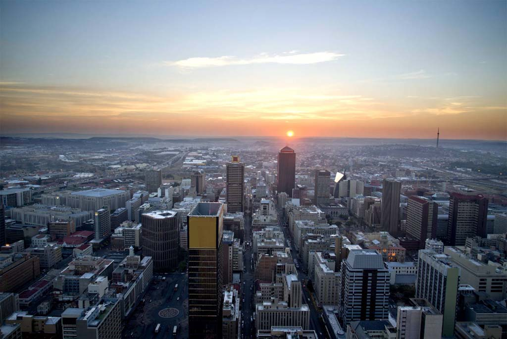 Johannesburg Skyline on Letter To Parents About Recycling Day